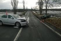 Tragická nehoda u Cehnic v pátek 13. ledna