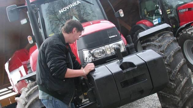 Na snímku je bývalý soukromý zemědělec Petr Laštovka z Plzně.