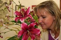 Na výstavě byly k vidění nejen lilie, ale i další druhy květin.