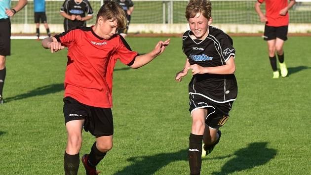 Mladší žáci: Junior Strakonice - Tatran Prachatice 0:2.