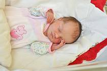 Nela Prosserová ze Sušice. Nelinka se narodila 16.1.2019 ve 13 hodin a 24 minut a při narození vážila 2900 g. Nelinka je prvorozená.