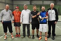 Tenisté si zahráli Memoriál Miroslava Boučka.