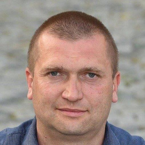 Luboš Srb 40let, ředitel DDM, ROVNĚ