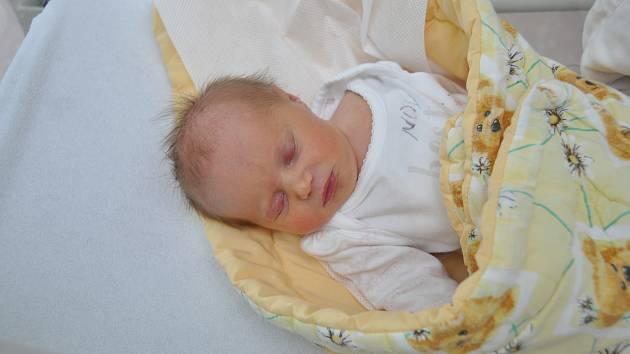 Melissa Scherzová, Volyně, 8.2.2018 v 8.08 hodin, 2530 g, Malá Melissa je prvorozená.