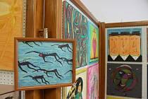 Výstava obrazů Zdeňka Plachty.