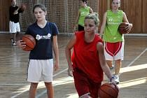 Příprava mladých basketbalových nadějí se konala tradičně ve Volyni.