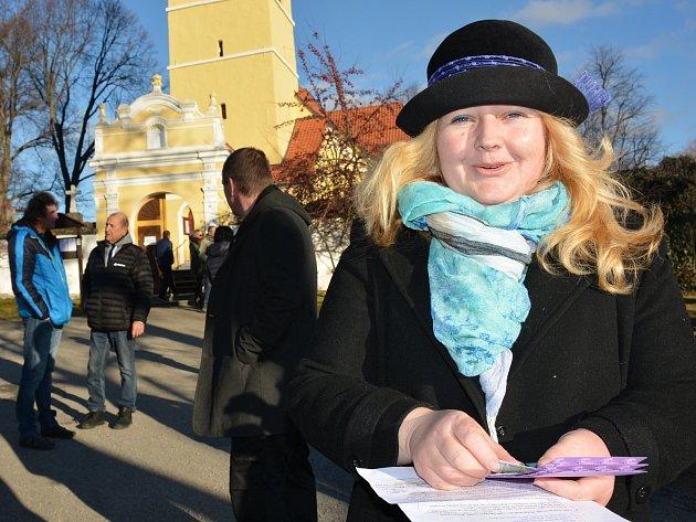 Klára Kavanová Mušková, ředitelka domova SV. Linharta vChelčicích