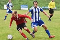 Fotbalová A třída: Sousedovice - Trhové Sviny 0:1.
