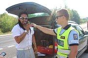 Policisté kontrolovali u Jinína.