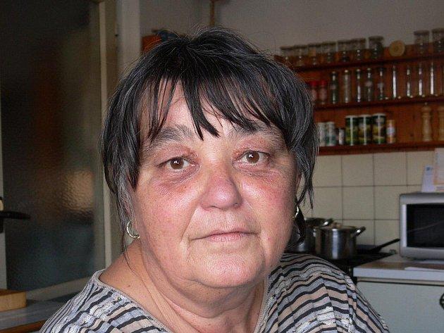 Řepická babča Věra Chmelová.