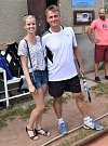 Tenisté sehráli ve Volyni turnaj ve čtyřhře.