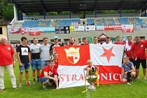 Strakoničtí Slávisté vyrazili na turnaj fanoušků slavného klubu.