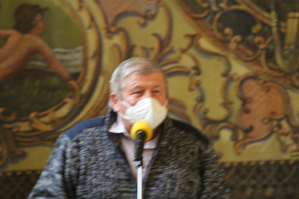 Do VV OFS nově kandiduje Václav Albrecht.