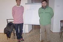 BEZ Katovice - sinolog Martin Kříž a Michal Novotný (vpravo)