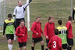 Fotbalisté Oseku doma utrpěli debakl s Dačicemi 1:6.