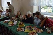 Setkání seniorů v Číčenicích.