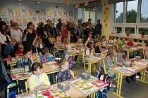 První školní den na ZŠ Katovice.