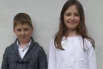 Magdaléna Maršíková a Martin Tůma ze Základní umělecké školy v Blatné sklízí úspěchy ve hře na zobcovou flétnu.