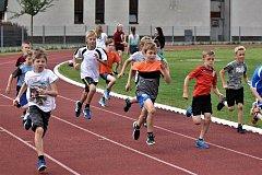 Mladí atleti soutěžili v okresním kole atletických soutěží 1. - 5. tříd.