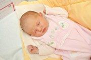 Nela Brabcová, Kraselov, 9.3.2018 v 7.52 hodin, 3600 g. Malá Nela je prvorozená.