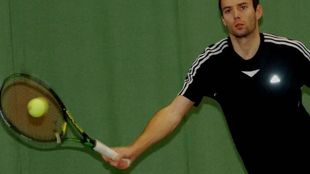 Okresní přebor ve dvouhře vyhrál Tomáš Fiala ml.