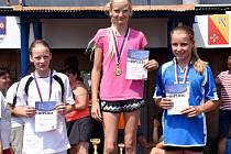 Žáci základních škol závodili v atletických disciplínách.