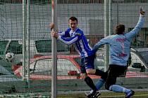 Fotbalisté Strakonic v Domažlicích celý zápas vedli, nakonec ale jen remizovali 4:4.