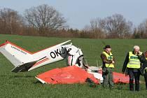 Tragédie u Chrášťovic. Zemřel pilot.