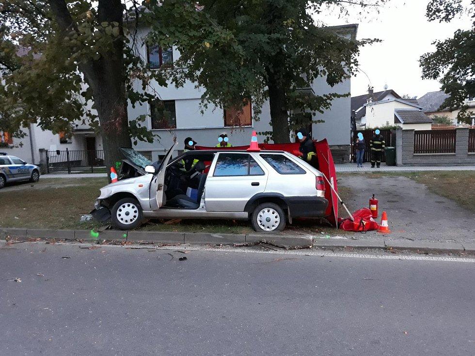 Náraz do stromu ve Vodňanech se stal osudným spolujezdci.