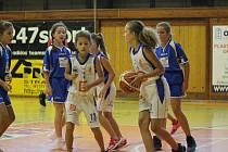 Mladé basketbalistky se již znovu připravují společně. Ilustrační foto.