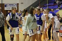 Strakonické basketbalistky míří do Chomutova. Doma tomuto soupeři podlehly 51:82.
