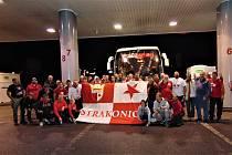 Strakoničtí fandové jeli podpořit svůj klub do Německa.