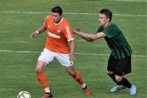Fotbalová divize: Rokycany - Katovice 1:0.