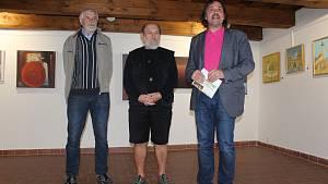 Malíři z jihu Čech vystavují v Kašperských Horách