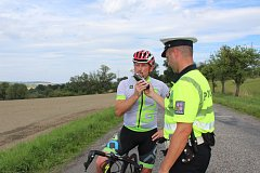 Policisté kontrolovali na několika místech okresu cyklisty a v různé denní i noční hodině
