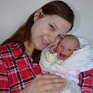 Viktorie Šeri, Blatná, 12. 2. 2018 ve 12.05 hodin, 2900 g. Malá Viktorie je prvorozená.