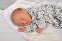 Izabela Drůbová z Řesanic. Izabelka se narodila 29. 10. 2019 v 8.19 hodin a její porodní váha byla 3 040 gramů. Dvouletá Šarlotka měla z narození sestřičky velkou radost.