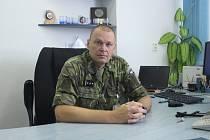 Současný velitel Jaroslav Ackermann míří do Prahy. Strakonické vojáky čeká nový velitel.