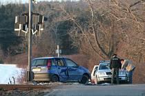 Nehoda u Sedlíkovic.