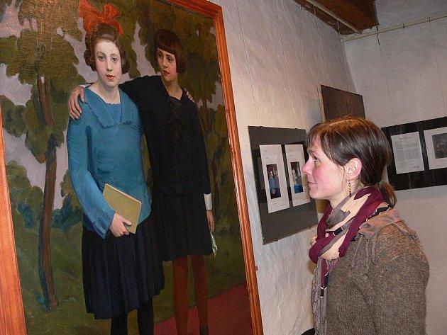 Výstava restaurovaných děl v Městském muzeu Volyně.