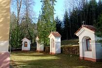Samotný kostelík zasvěcený Panně Marii byl postavený v roce 1891 z příspěvků dárců okolních farností, obec Milejovice se zavázala v zakládací listině tento kostelík i s křížovou cestou udržovat.