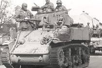 Osvobození Strakonice v květnu 1945