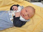 Alex Civáni, Strakonice, 16. 11. 2017, v 10.25 hodin, 3730 g. Malý Alex je prvorozený.