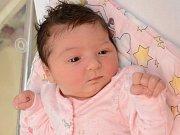 Elena Sládková, Březnice,  10.9. 2017 ve 14.21 hodin,  3700 g. Malá Elena je prvorozená.