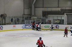 Hokej 8. třída Plzeň - Strakonice 9:1.