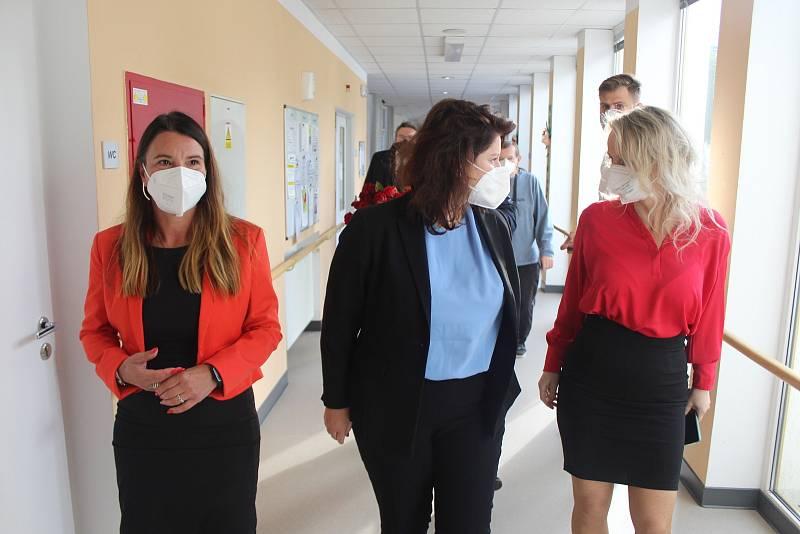 Ministryně práce a sociálních věcí Jana Maláčová zavítala do Strakonic.