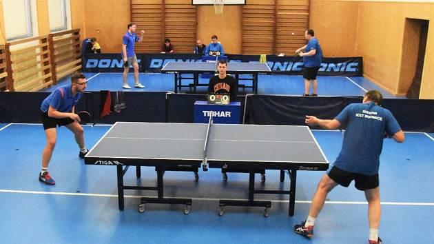 III. liga stolních tenistů: ČZ Strakonice - Bohnice 10:3.