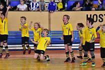 Fotbalové mladší přípravky si zahrály O pohár OFS Strakonice.