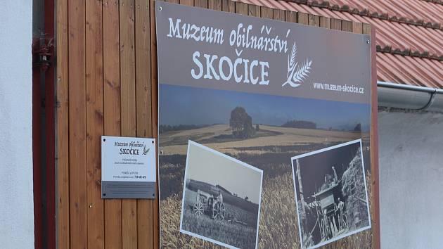 Skočice - Volný vstup do svých prostor nabídlo v sobotu 31. srpna Muzeum mlynářství a obilnářství ve Skočicích.