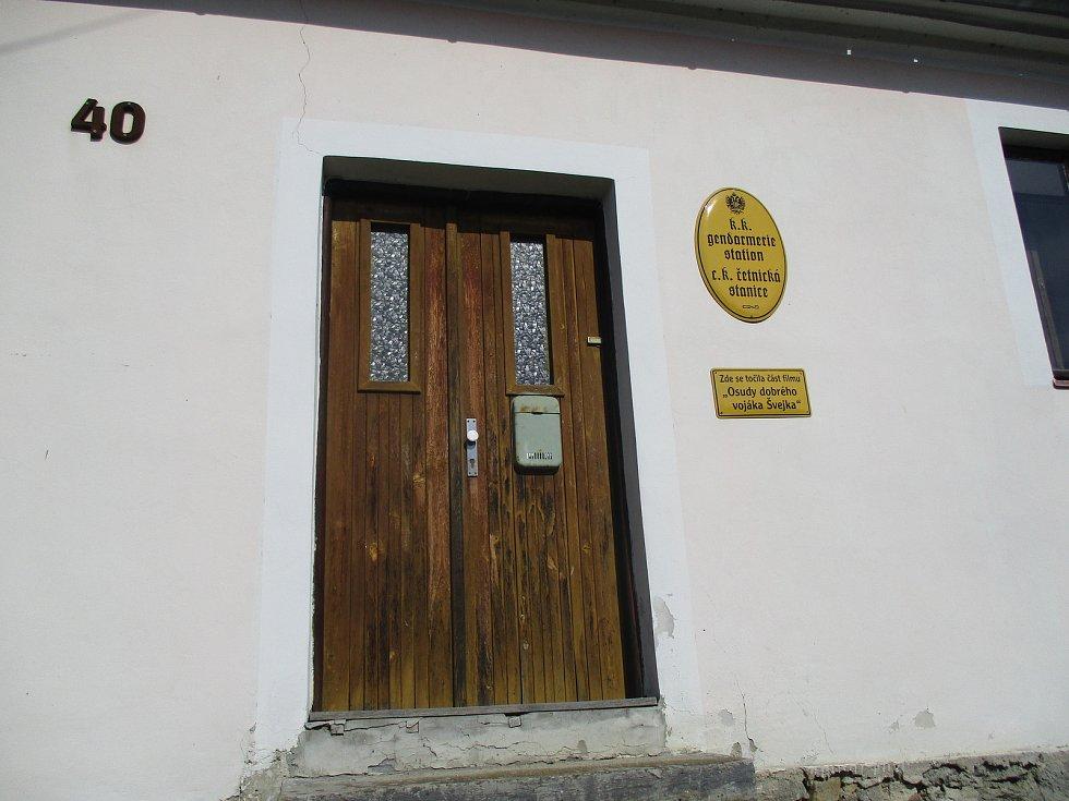 Četnická stanice Putim.